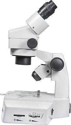Barska Microscope Binocular Zoom Stereo 7x-45x Adjustable Head Rotates 360° NEW