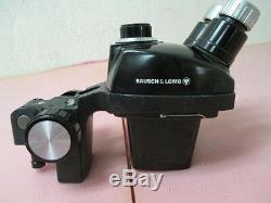 Bausch & Lomb, 0.7X-3X, Stereo Zoom Microscope Head