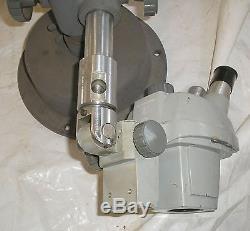 Bausch & Lomb 1X-2X Laboratory Stereo Zoom Binocular Microscope w Stand