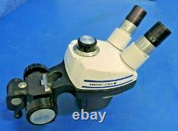 Bausch Lomb Stereo Zoom 4 Microscope Head with 10X Eyepieces Focus Mount Bracket