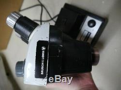 Bausch & Lomb Stereo Zoom 4 Microscope with Eyepieces, Boom Stand, and Light