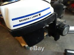 Bausch & Lomb Stereo Zoom 5 Microscope with Stand base Boom 10X WF Eyes