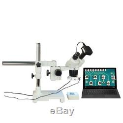 Binocular 10X-20X-30X-60X 720p WiFi Stereo Boom Microscope+56 LED Light