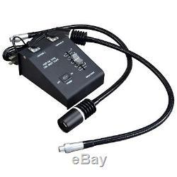 Binocular 10X-20X-40X-80X USB3.0 10MP Stereo Boom Microscope+6W Gooseneck Light