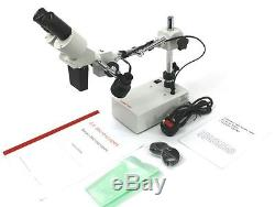 Binocular ST50B Stereo Microscope, 40X Mag. PCB-Mobile Phone-Soldering, FREE P&P
