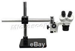 Binocular Stereo Microscope 10X-20X-30X-60X Boom Stand