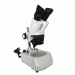 Binocular Stereo Microscope BNIB UK STOCK 20X-40X-80X LED Lighting UK Plug