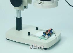 Binocular Stereo Mikroskop Großes Feld Okular mit Licht für Handy Reparatur