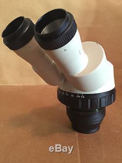 Binocular Stereo Zoom Microscope Head 0.67X-4.5X