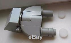 Carl Zeiss Jena Stereo Binocular prim head microscope LABOVAL ERGAVAL AMPLIVAL