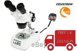 Celestron Labs S10-60 Stereo Microscope 44218 (UK Stock)