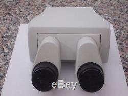 Ergonomic Tilting Binocular Head for Olympus SZX7, SZX9, SZX12 Stereo Microscope