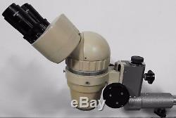 G144350 Olympus Tokyo SZ Stereo Zoom Binocular Microscope withBoom Stand, GWH10X23