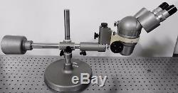 G144351 Olympus Tokyo SZ Stereo Zoom Binocular Microscope withBoom Stand