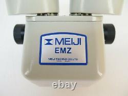 GRS Meiji Techno Microscope EMZ-5 Series 7X-45X Zoom Stereo Microscope Head