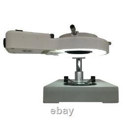 Illuminated Stereo Microscope with WF10X Eyepiece Binocular Industrial Microscope