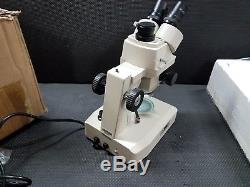 Jenco International ZM-F502 Binocular Stereo Zoom Microscope, 10x Eyepieces, 7.5