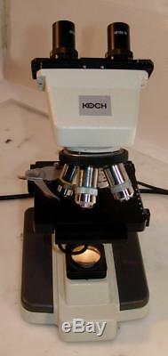 KOCH/Motic B1 Collegiate/Medical-Grade Binocular Stereo Microscope
