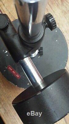 Kyowa surgical stereo binocular microscope with stand Read