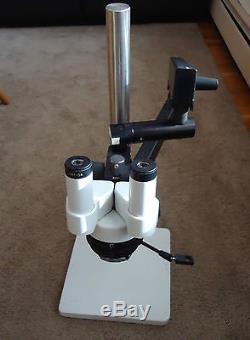 Leica Flex Arm 15x Stereo Binocular Microscope