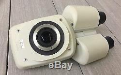 LEICA Stereo Microscope Binocular Head Body 501055 091