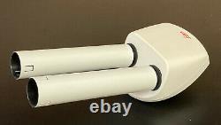 Leica Binocular Head For MS & MZ Stereo Microscopes, extended tubes (160mm long)