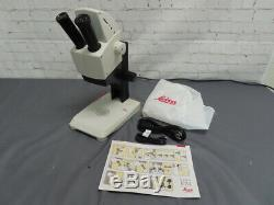Leica EZ4 HD Stereo Zoom Microscope With LED Lights, 3MP Digital Camera & USB