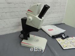 Leica EZ4 HD Stereo Zoom Microscope With LED Lights, 3MP Digital Camera & USB