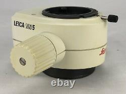 Leica MS5 Stereo Microscope Zoom Body 0.63x 4.0x Magnification 110% Refund