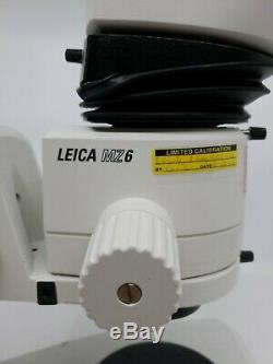 Leica MZ6 Stereo Zoom Microscope with 10x Leica eyepieces Focus StandLED Light