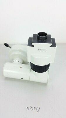 Leica Multi Axis Stereo Binocular Observation Assistant Microscope 10411576 use