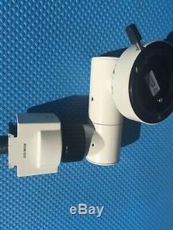 Leica Multi Axis Stereo Binocular Observation Assistant Microscope Pn 10411576
