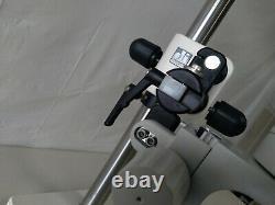 Leica Mz6 Stereo Microscope With Diagnostic Boom Stand, Ergo Wedge & 10x21b Eye