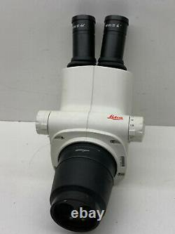 Leica S6E Stereo Zoom Binocular Microscope Head