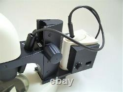 Leica S6E Stereo Zoom Microscope with Leica L2 Cold Light Source Illuminator