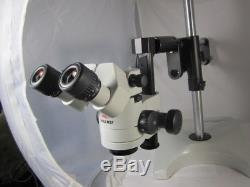 Leica Wild M3z Stereo Zoom Binocular Microscope On Boom Stand