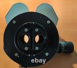 Leica Wild Stereo surgical Microscope Binocular Head Diaphragm