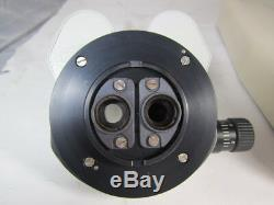 Leica Wild Stereo surgical Microscope Binocular Head with diaphragm