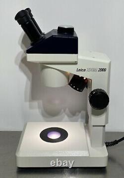Leica ZOOM 2000 Model Z30V Stereo Microscope