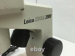 Leica Zoom 2000 Stereo Microscope 10x Eye 10.5-45x Objective