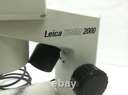 Leica Zoom 2000 Stereo Microscope 10x Eye 7-30x Objective