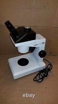 Leica Zoom 2000 Stereo Microscope Lab Laboratory Nice