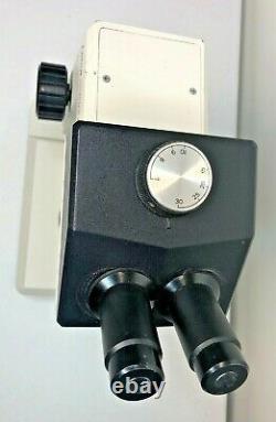 Leica Zoom 2000 Stereo Scientific Laboratory Microscope 10x Eye 7-30x Objective