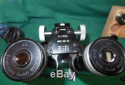 Leitz Stereomikroskop Binokular Binocular BUND Stock Stereomicroscope Microscope