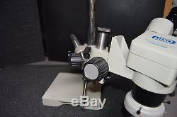 Luxo 18712 System Stereo Zoom Binocular with BoomStand Ring light