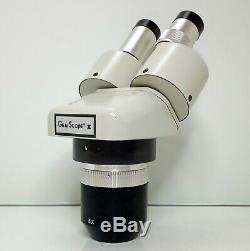 MEIJI EMT-2 Stereo Turret Microscope SWF10X Eyepieces 10X 30X Mag SERVICED #424
