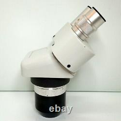 MEIJI EMT-2 Stereo Turret Microscope SWF15X Eyepieces 15X 45X Mag SERVICED #425