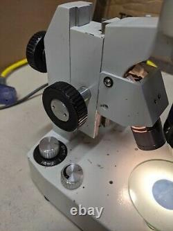 MEIJI EMT Stereo Microscope SWF10X Eyepieces Light Base 1x-3x Turret