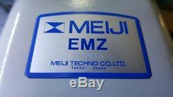 MEIJI EMZ-5 Stereo Microscope with Binocular Stereo Head & SWF10X Eyepieces