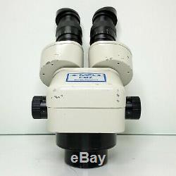 MEIJI EMZ-5 Stereo Zoom Microscope SWF10X Eyepieces 7X-45X Mag SERVICED #390